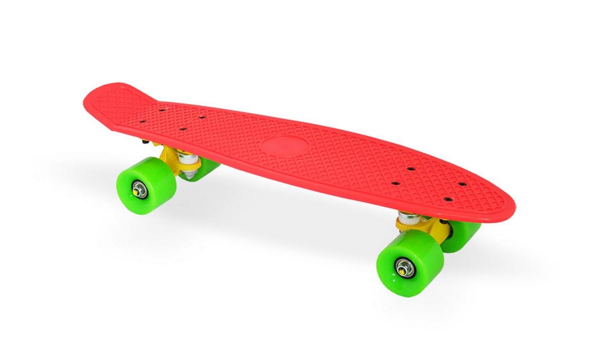 Скейт пластиковый 22х6 quot; Moove Fun PP2206-1 red скейт пластиковый 22х6 quot moove fun pp2206 1 yellow