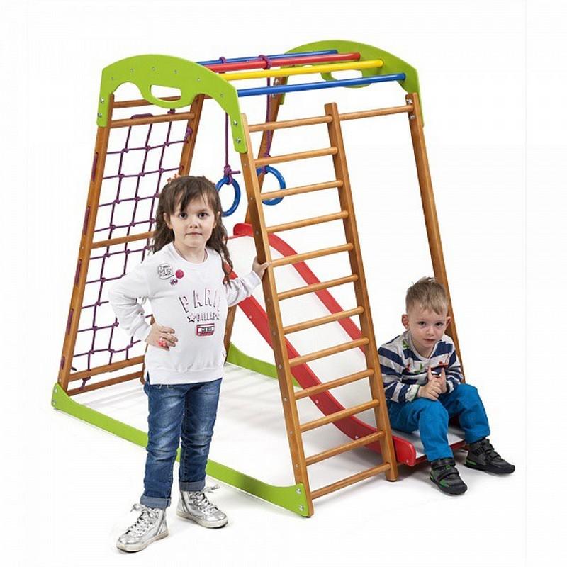 Купить Детский спортивный комплекс для дома SportWood BabyWood Plus 1, Дск для дома