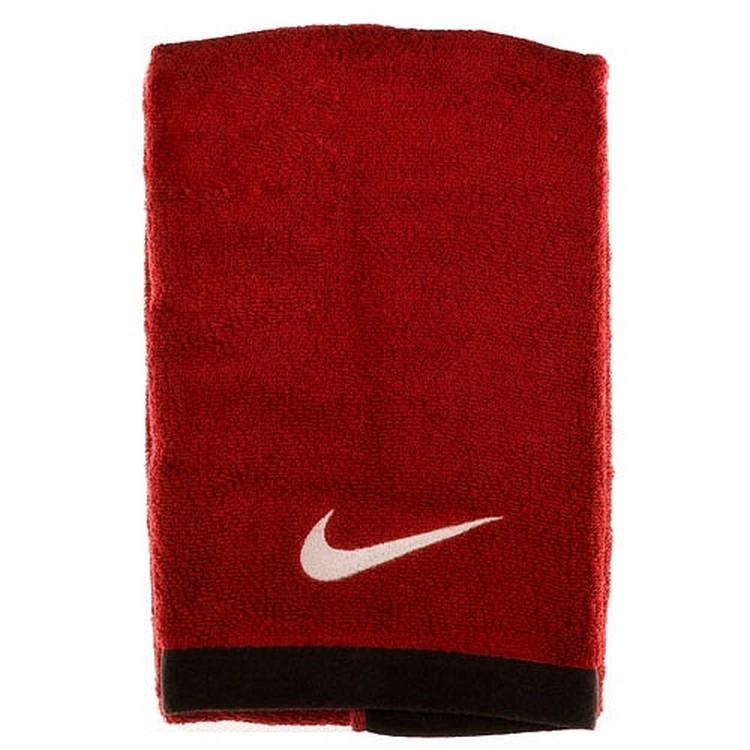 Полотенце Nike Fundamental Towel красн/бел, L