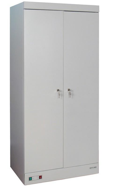 Шкаф сушильный металлический для одежды и обуви ШСО-2000 1810х800х510мм