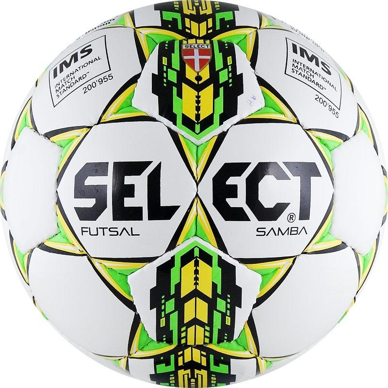 Мяч футзальный Select Futsal Samba №4 (ТПУ) мяч футзальный select futsal talento 11 852616 049 р 3