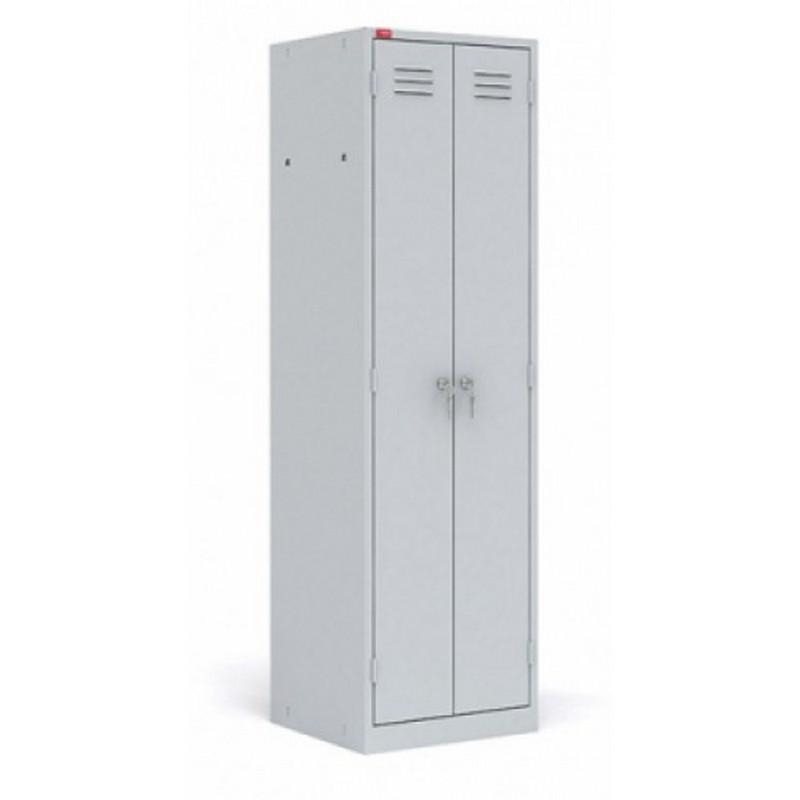 Шкаф металлический разборный 2-секционный для одежды СТ-22 1860x800x500мм (повышенной жесткости)