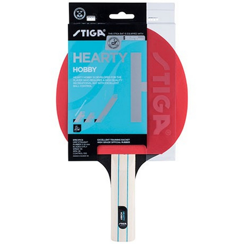 Ракетка для настольного тенниса Stiga Hearty 1210-1417-37 ракетки ping pong ракетка для настольного тенниса ping pong tempo