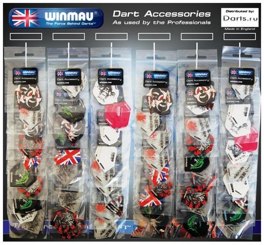 Набор из 60 комплектов оперений Winmau