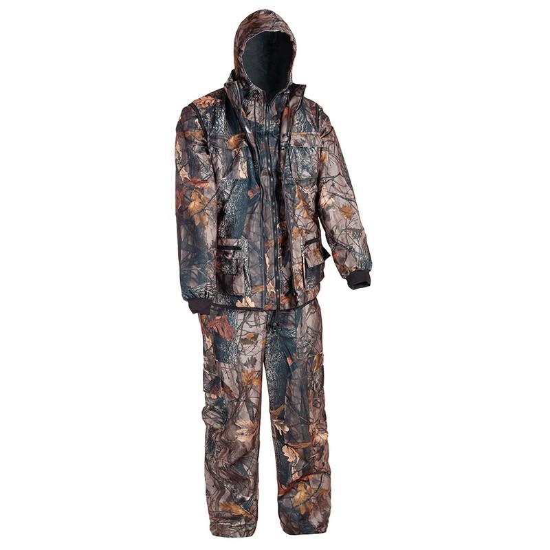 Костюм Huntsman Тайга-3 тк. Алова мужской демисезонный, темный лес(дубок) разгрузочный жилет спецназ или омон