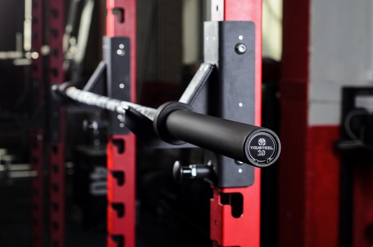 Купить Гриф YouSteel Training Bar XF-20, 20 кг, длина 2200 мм, D28 камуфляж + чёрный,
