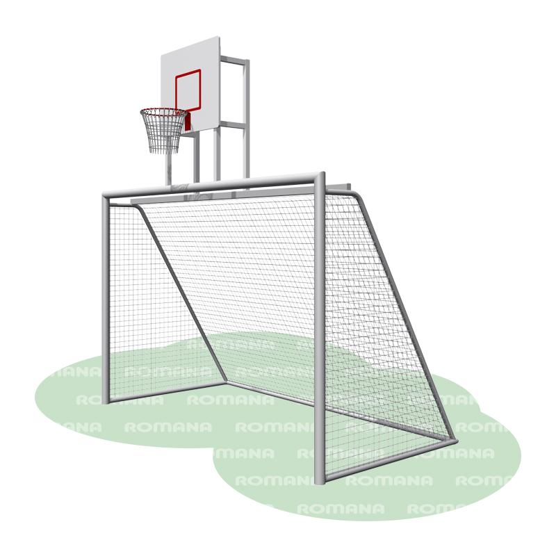 Купить Ворота с баскетбольным щитом Romana 203.10.00,