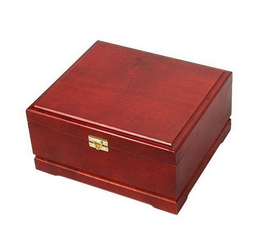 Деревянный кейс на 250 фишек rtk250k красный