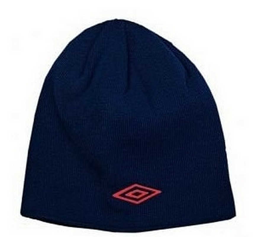 Шапочка Umbro Team training hat 565011 (092) т.син/красн.