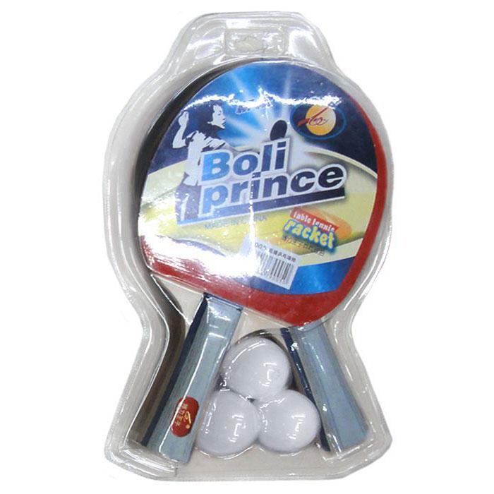 Купить Набор для настольного тенниса (2 ракетки, 3 шарика) H09896, NoBrand