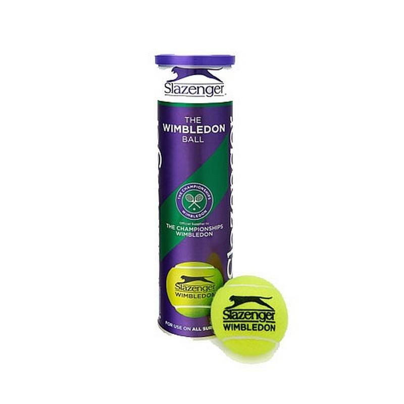 Мячи для большого тенниса Slazenger Wimbledon Ultra Vis Hydroguard 4шт slazenger кроссовки slazenger 27126532 white cerise