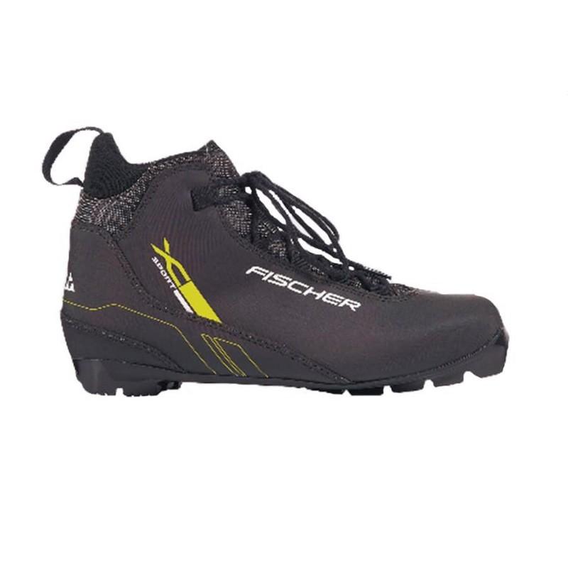 Лыжные ботинки NNN Fischer XC Sport S39818 black yellow