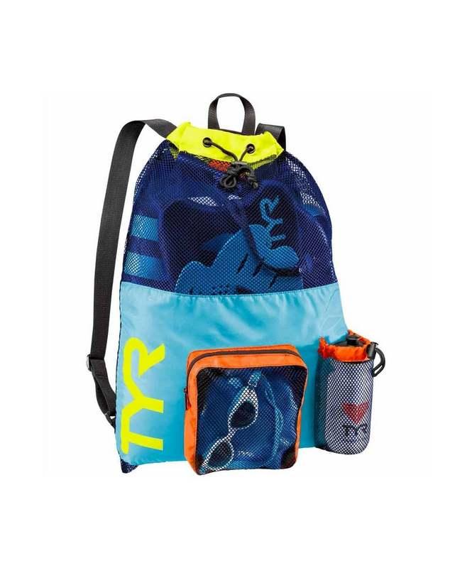 Купить Рюкзак для аксессуаров TYR Big Mesh Mummy Backpack, LBMMB3/465, голубой,