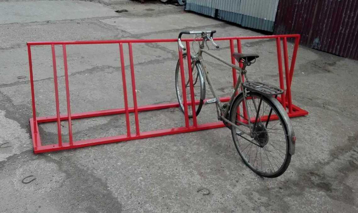 Велопарковка на 5 мест Glav 14.500