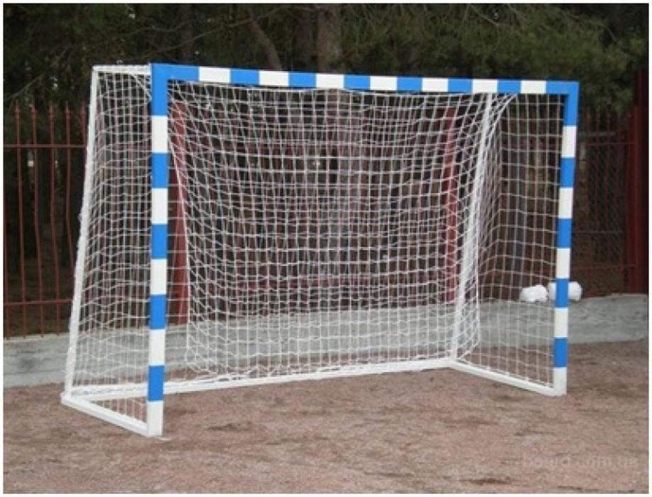 Купить Сетка для мини футбольных ворот ФСИ 030940, нить 4,0 мм (2,9х1,9м) белая,