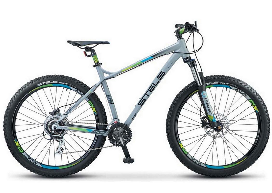 Картинка для Велосипед Stels Adrenalin D 27.5 quot; V010 Серый 2019 (LU092620)