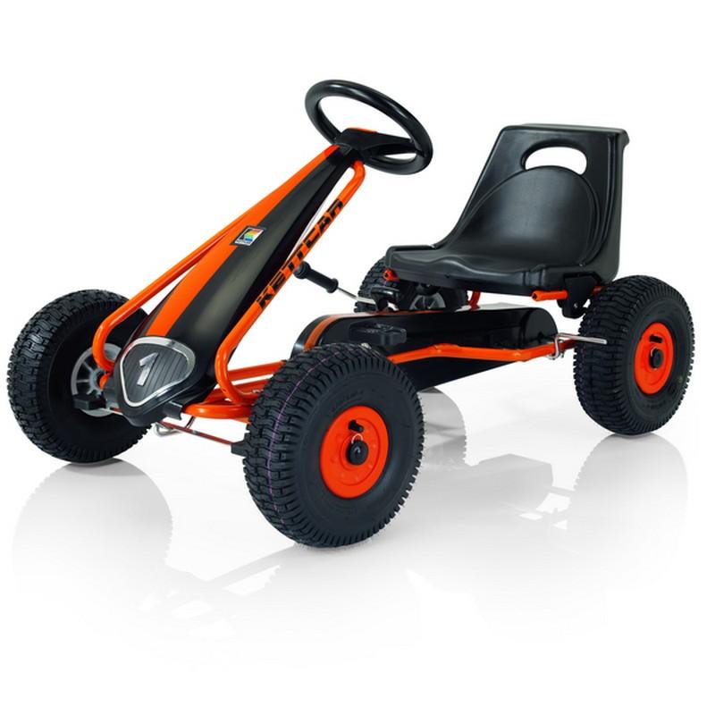 Купить Кетткар Kettler T01020-5000 Suzuka Air, Чёр-Оранж, Веломобили