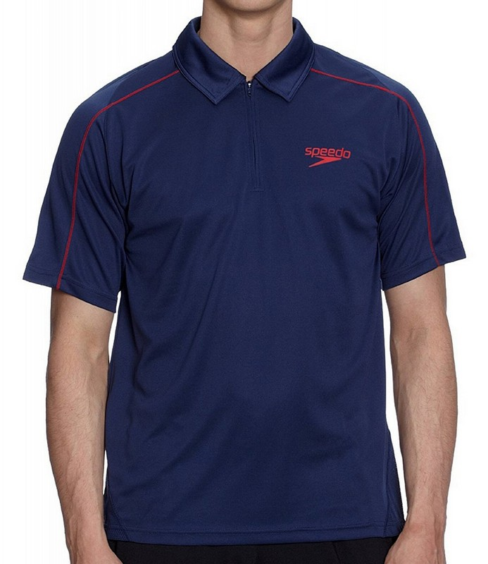 Футболка-поло Speedo Rolle Unisex Technical Polo Shirt (102) т.синяя