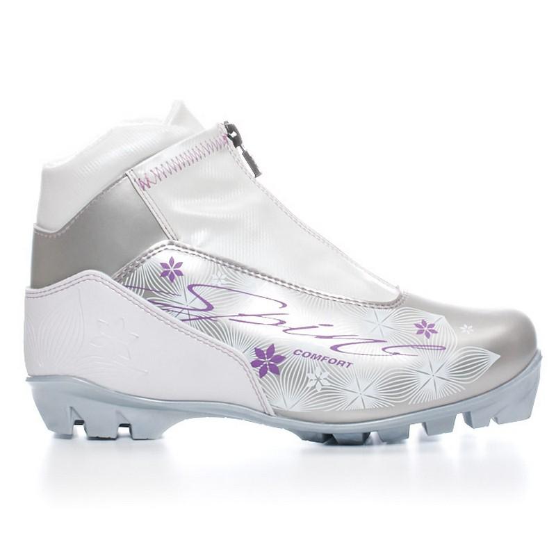 Купить Лыжные ботинки NNN Spine Comfort (83/4) (бело/сиреневый),