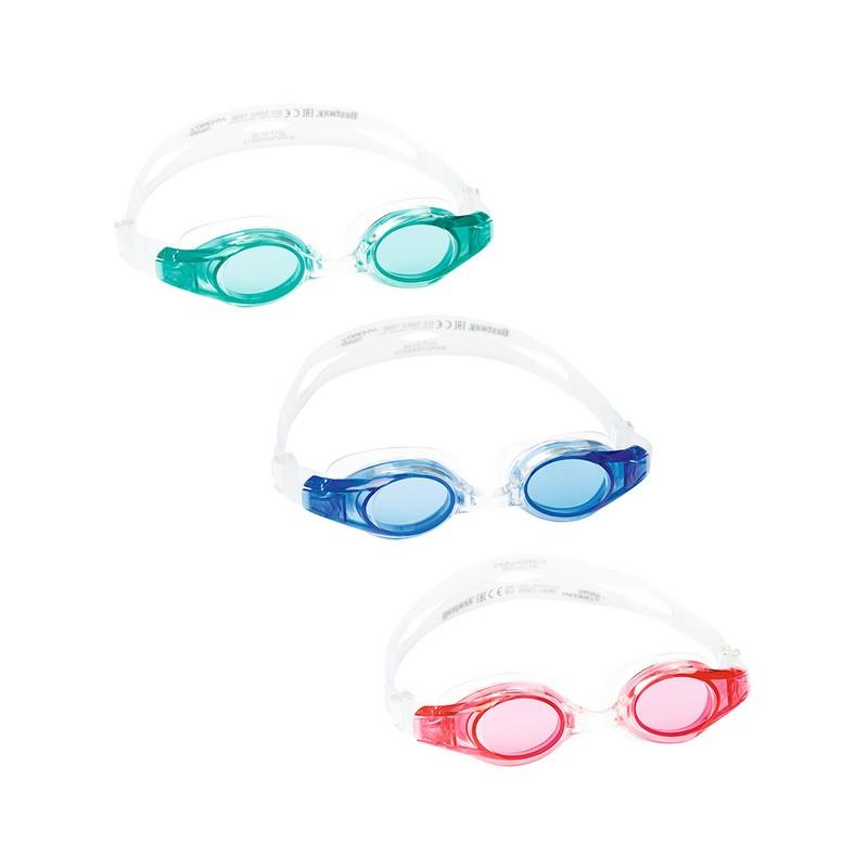Купить Очки для плавания Lil' Wave Bestway детские 21062 3 цвета,