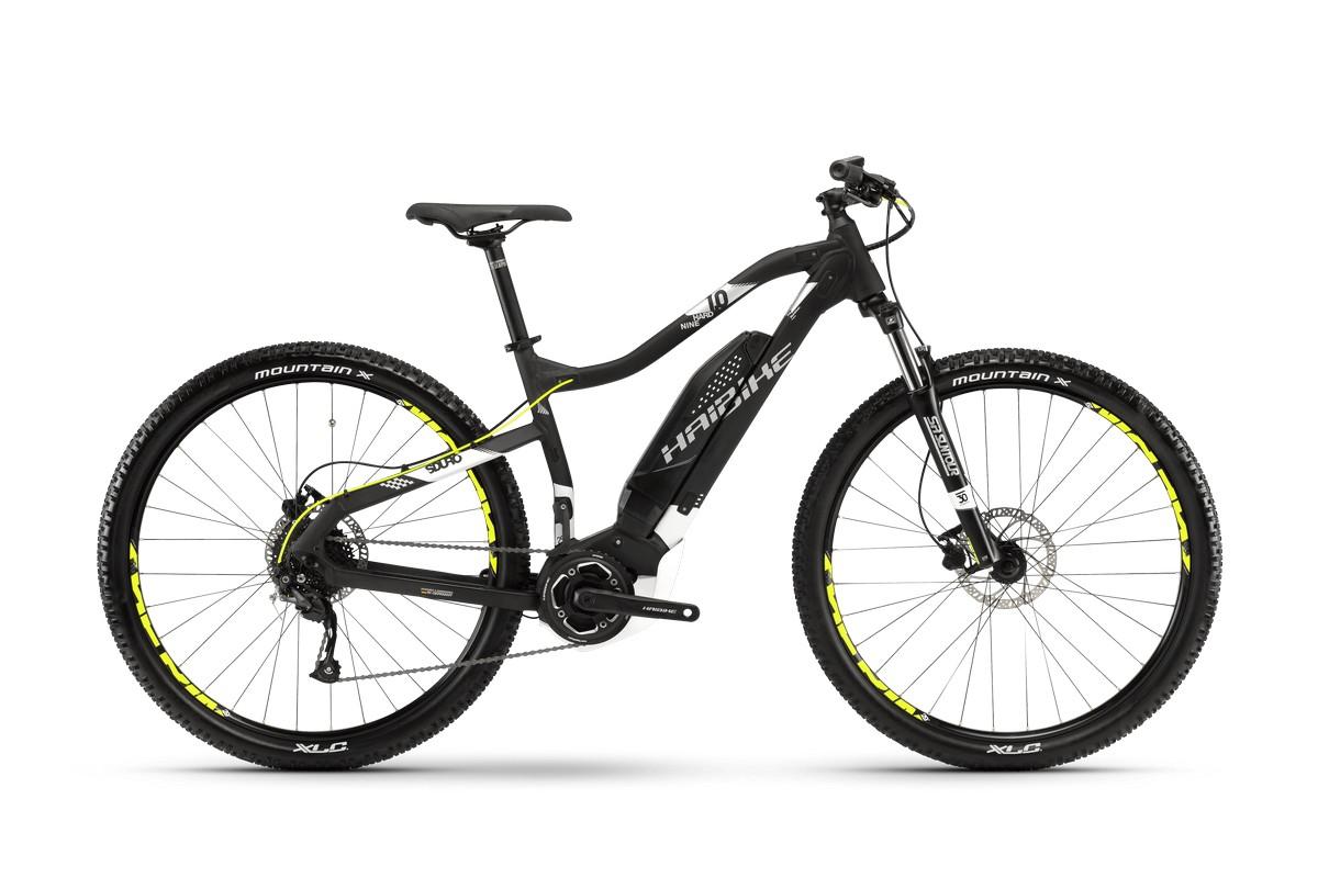 Электровелосипед HaiBike Sduro HardNine 1.0 400Wh 9s Altus (2018)