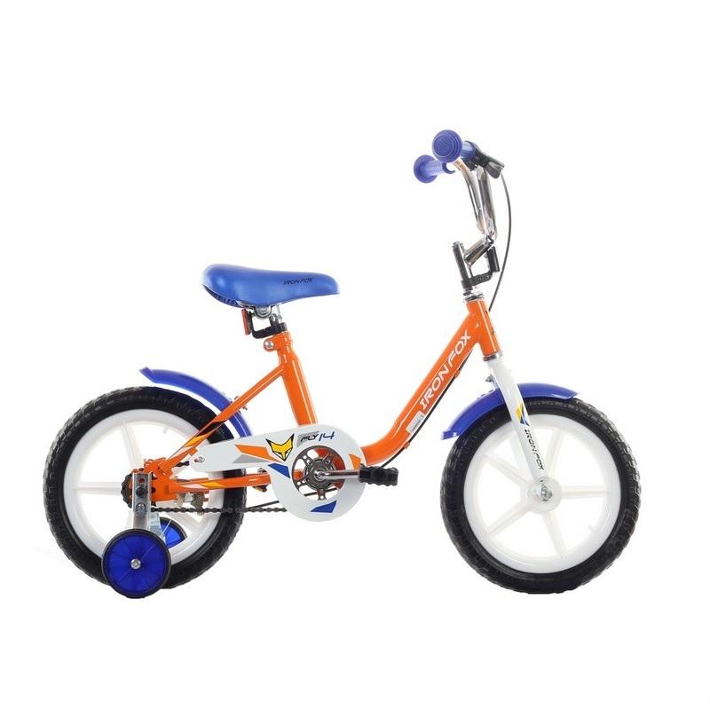 Велосипед Iron Fox Fly 14 2017 оранжевый