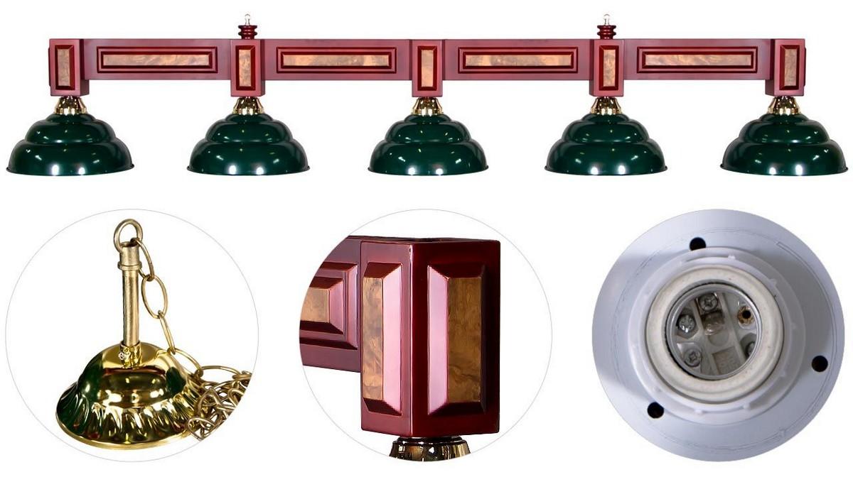 Купить Лампа на пять плафонов Dandy 75.988.05.0-1, Weekend