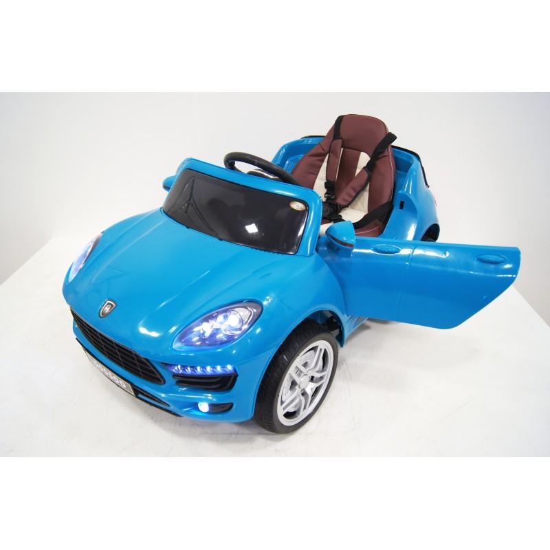 Электромобиль River-Toys Porsche Macan O005OO VIP синий с ДУ