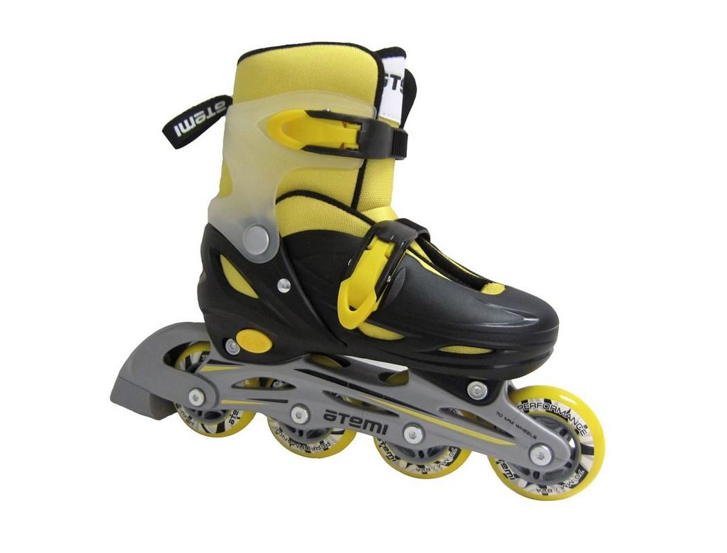 Купить Коньки роликовые детские Atemi Neon hard boot AJIS-12.05,