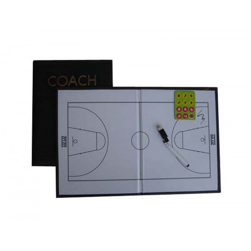 Купить Тактическая доска Dinamika Баскетбол на магнитной основе,