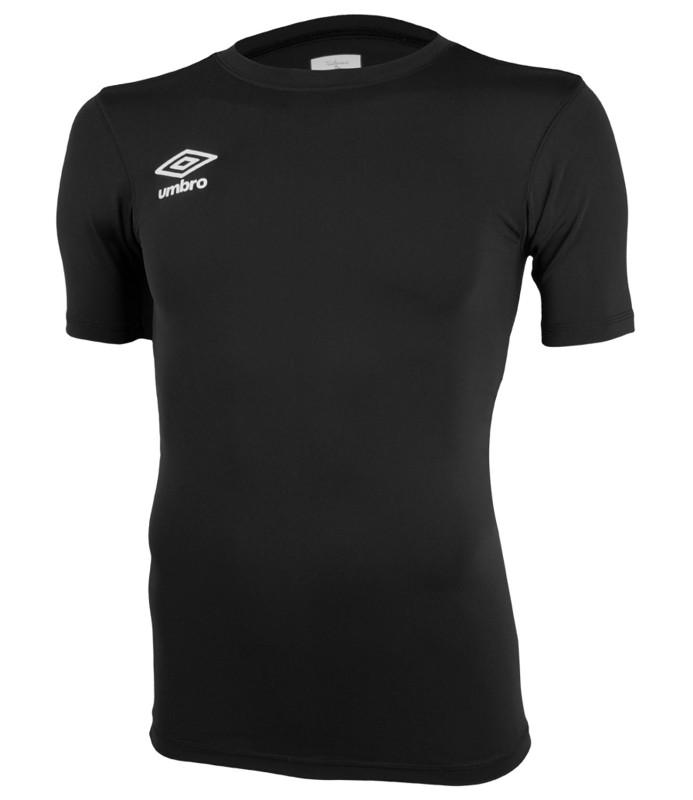 Футболка тренировочная Umbro FW SS Crew base layr мужская (060) черная футболка element basic crew ss f off white