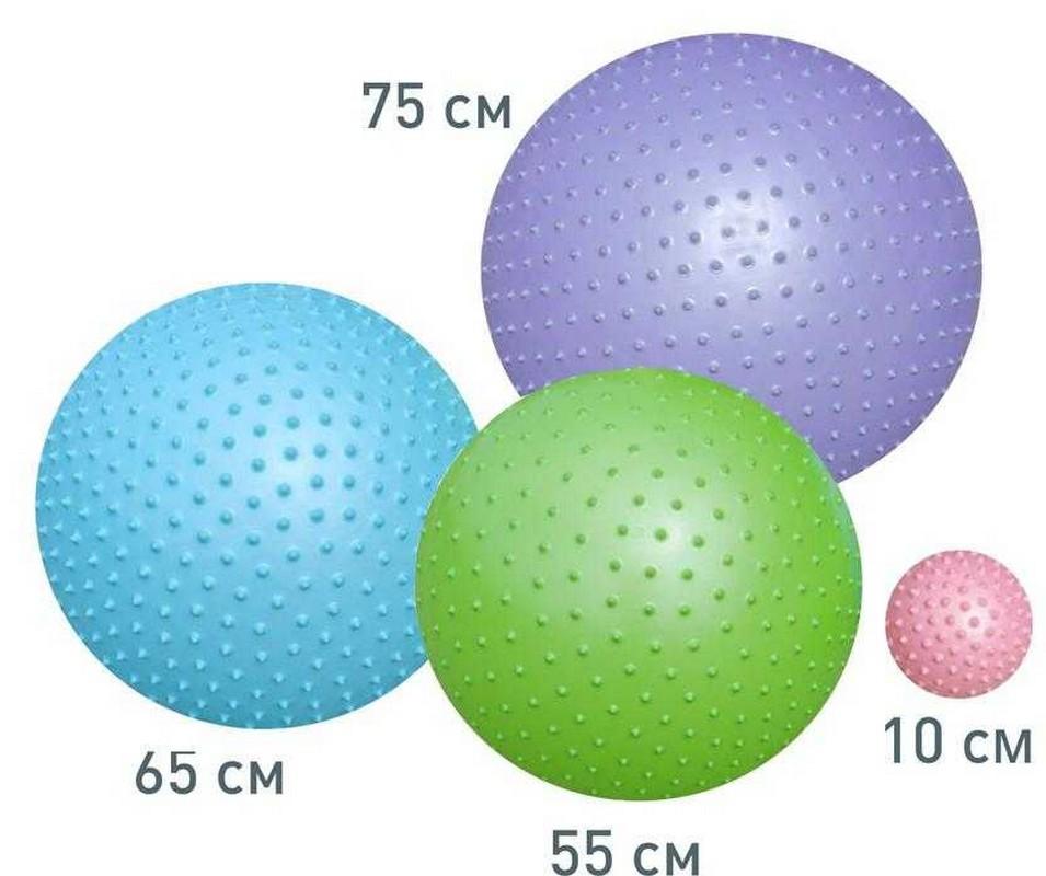 Мяч массажный 10 см Atemi AGB-02-10