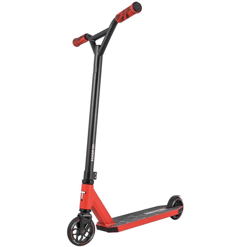 Купить Трюковой самокат Techteam Duker 101 (2020) черный-красный,