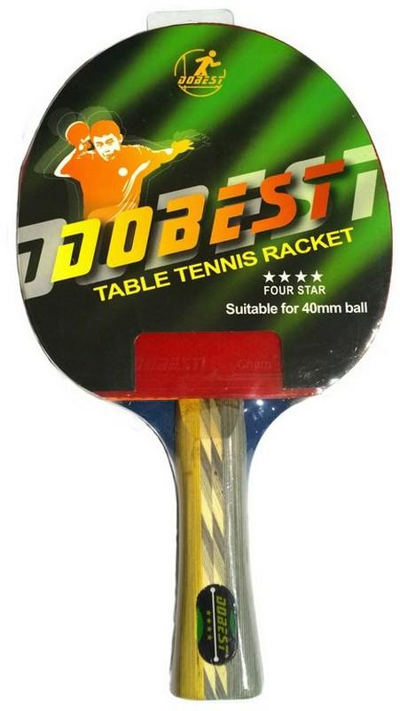 Ракетка Dobest 4-01BR, 4 звезды, тренировочная ракетка для настольного тенниса torres hobby tt0003