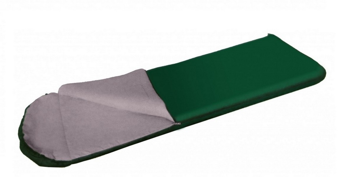Спальный мешок BTrace Onega450 SO548 зеленый