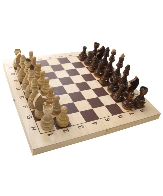 Купить Шахматы Гроссмейстерские 40х20х5,5 см, NoBrand