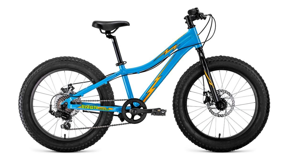 Купить Велосипед 20 Forward Bizon Micro FatBike AL 19-20 г,