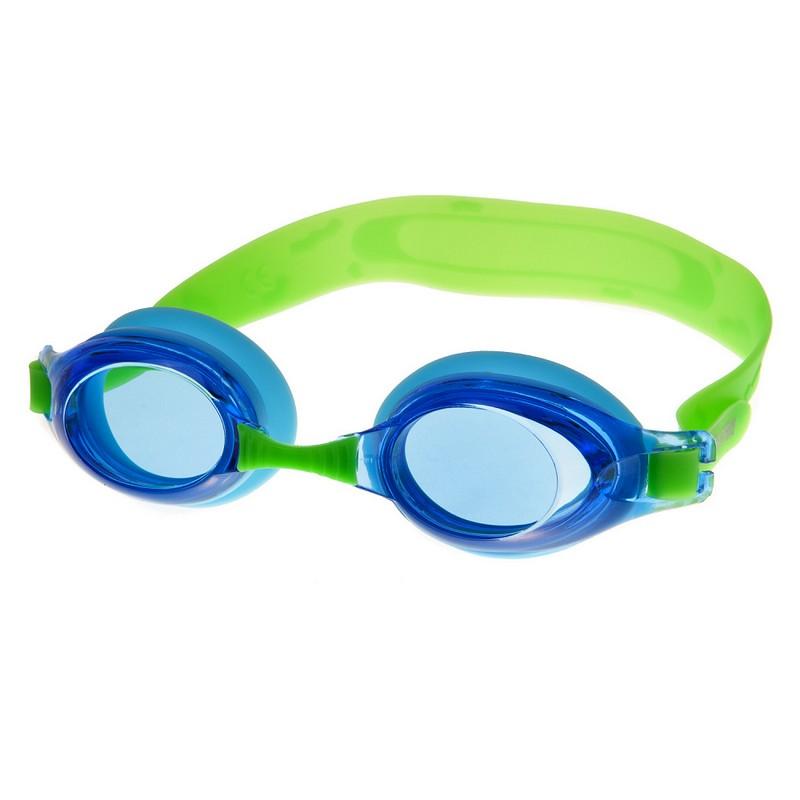Очки для плавания Alpha Caprice AC-G25 D зеленый-голубой очки для плавания alpha caprice ac g35 d зеленый