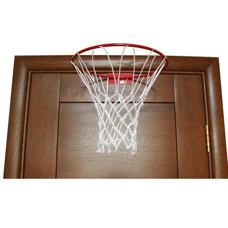 Кольцо баскетбольное M-GROUP с сеткой, D-45 см, на дверь