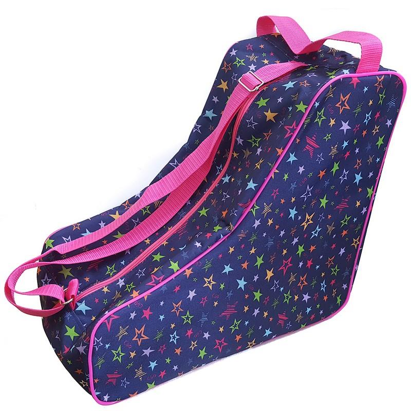 Сумка для коньков Звезды SM295 разноцветные, NoBrand  - купить со скидкой