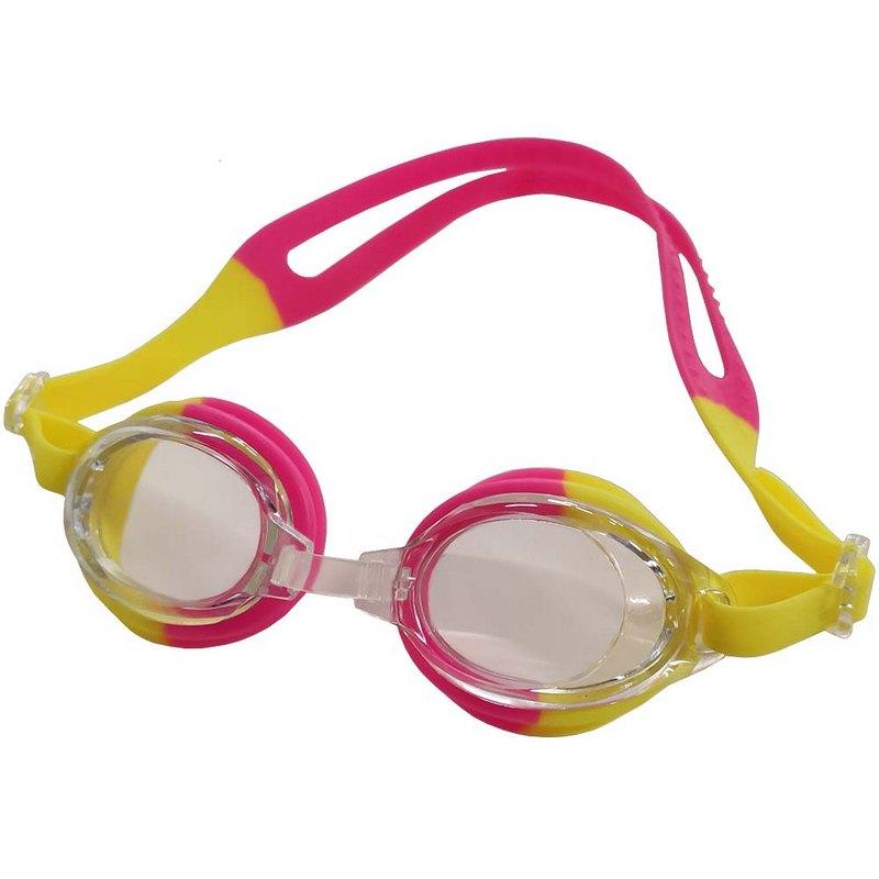 Купить Очки для плавания детские B31571 (желто-розовые), NoBrand
