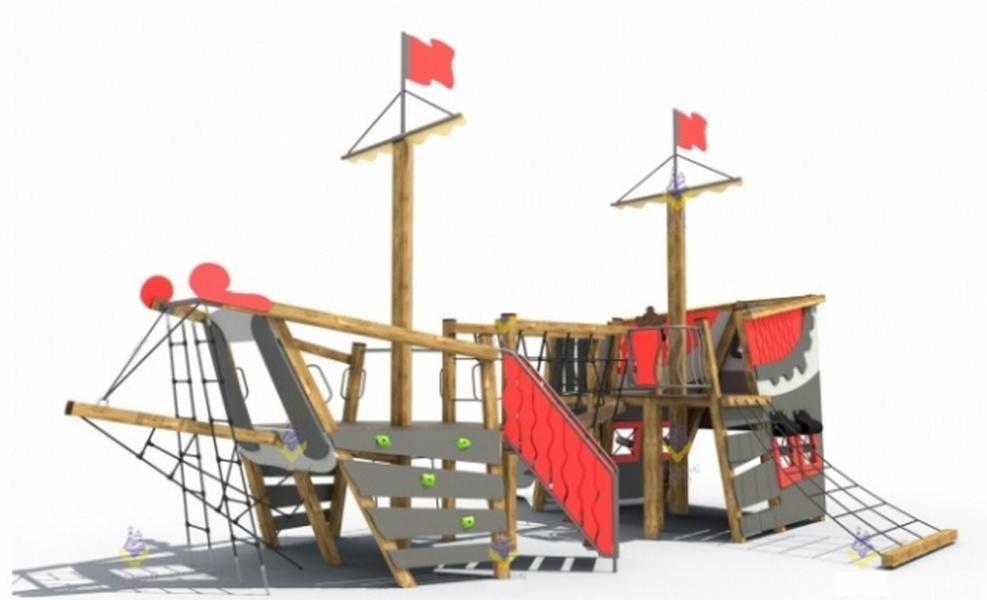 Купить Игровой комплекс МАФ Летучий голландец 3303,