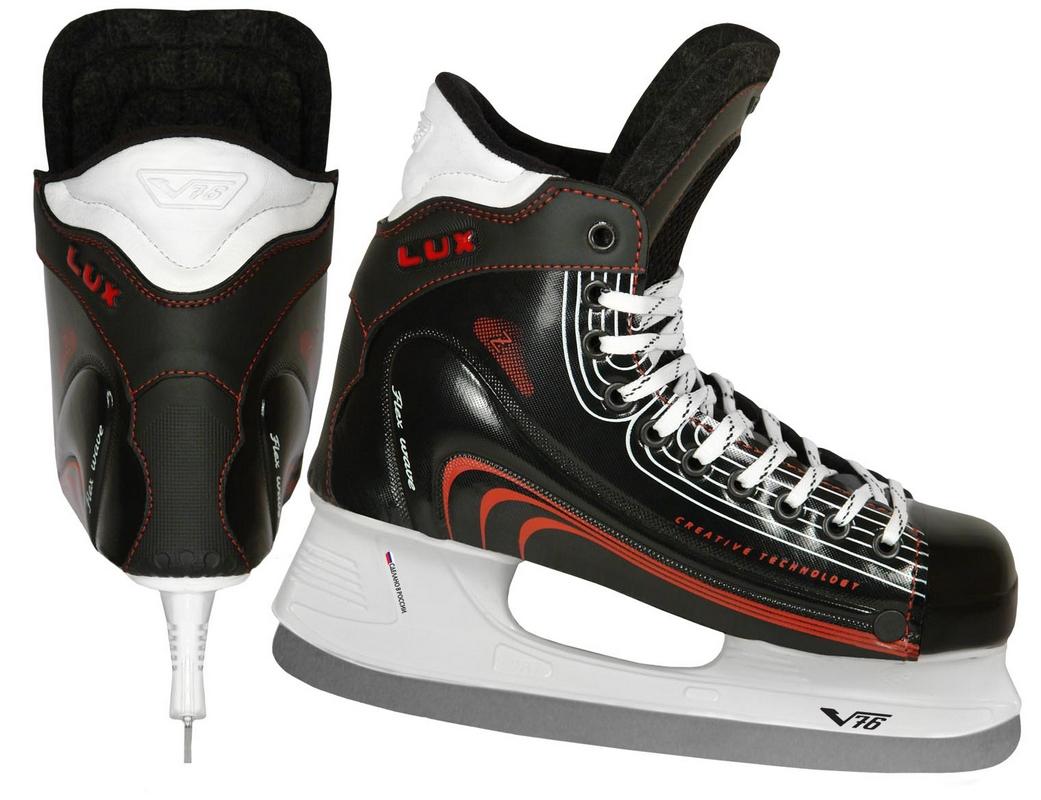 Коньки для хоккея с мячом V76 Lux Pro Z (R)