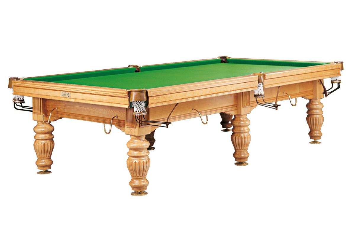 Бильярдный стол для русского бильярда DBO Dynamic Prince, 10 ф, дуб