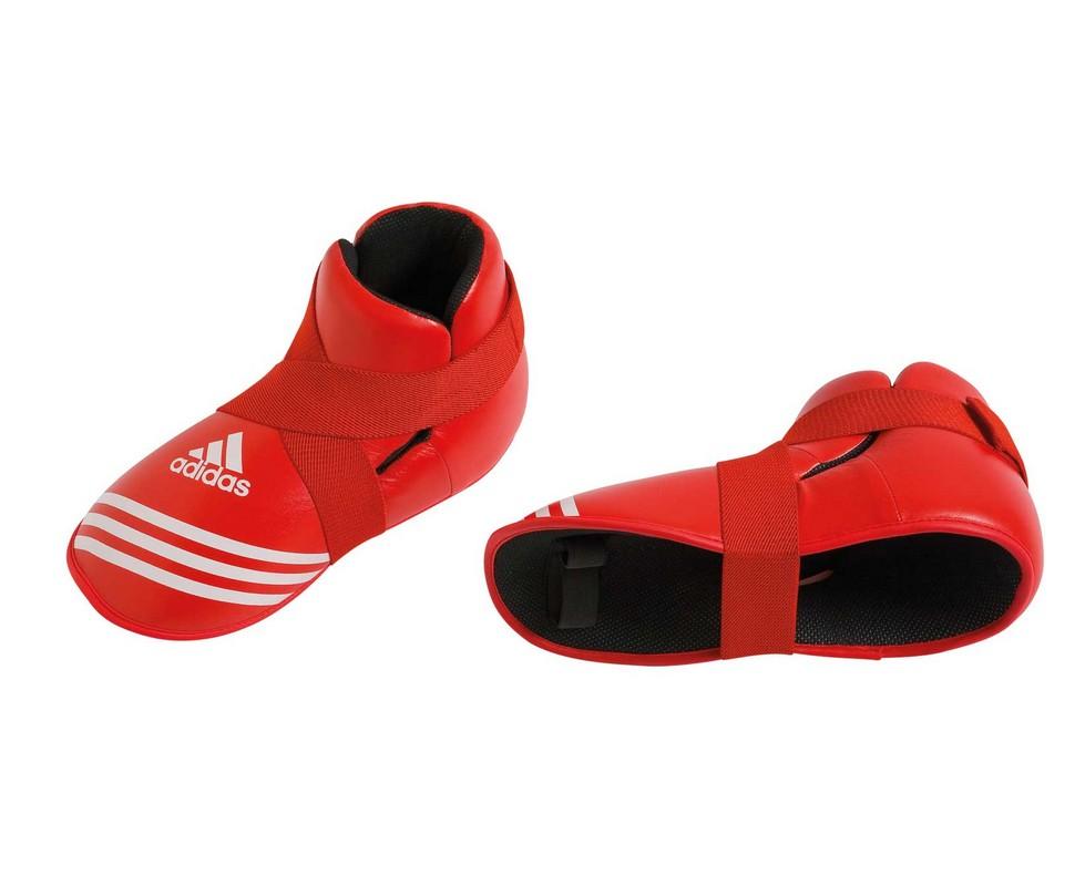 Защита стопы Adidas Super Safety Kicks красная adiBP04