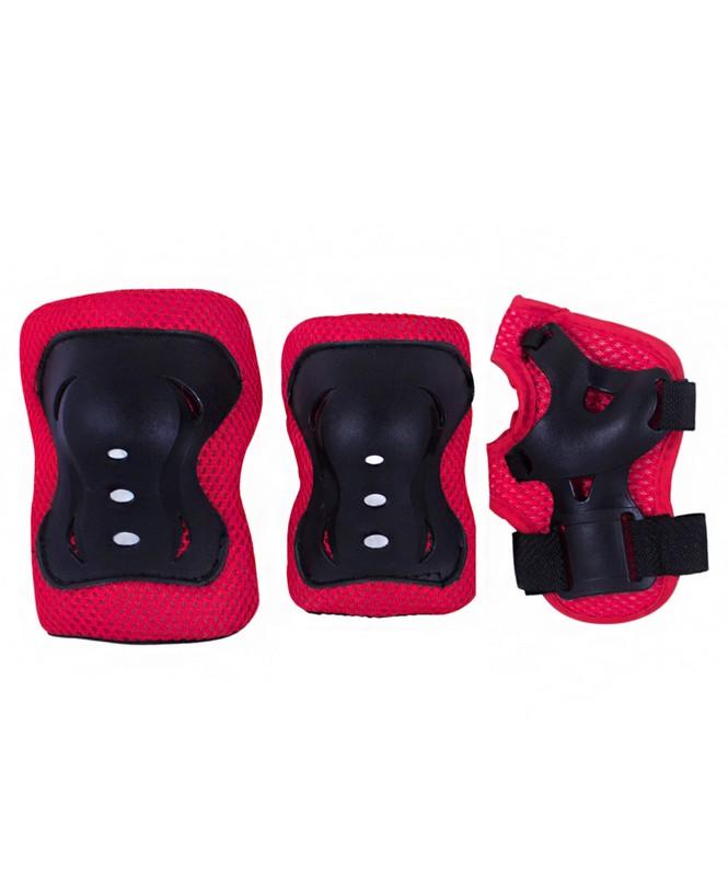 Комплект защиты Ridex Rocket красный-черный