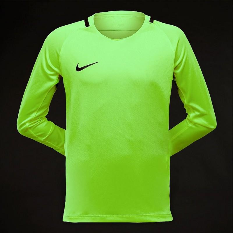 Свитер вратарский Nike Park Iii Jsy Ls Gk 894516-398 детский, св.зеленый