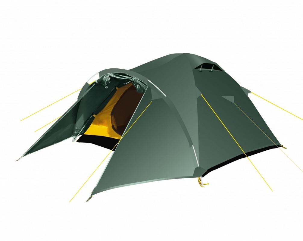 Палатка BTrace Challenge 4 T0164 зеленый
