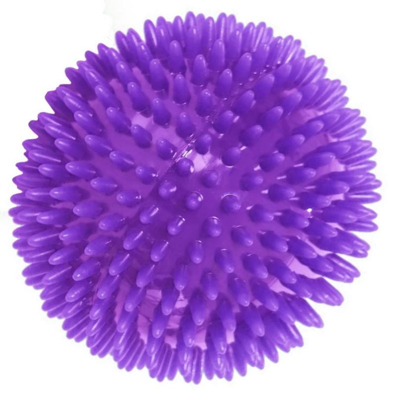 Купить Мяч массажный Диа 7 см T07638 фиолетовый, NoBrand