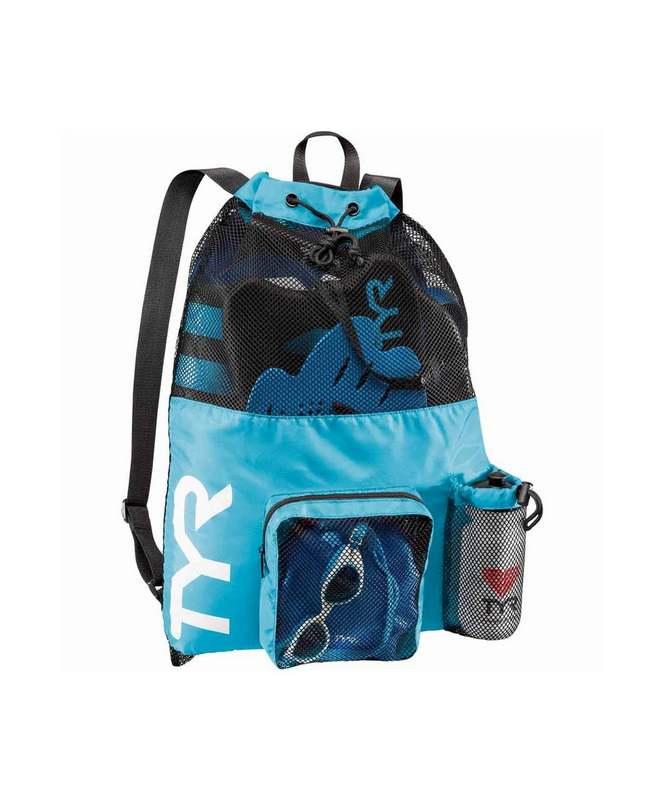 Купить Рюкзак для аксессуаров TYR Big Mesh Mummy Backpack, LBMMB3/420, голубой,